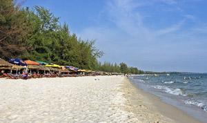 Пляж Очетель (Ochheuteal), Сиануквиль, Камбоджа