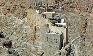 Мар Муса - монастырь Святого Моисея Абиссинского