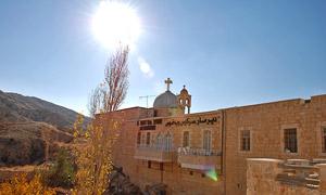 Монастырь Святых Сергия и Бахуса в Маалюле
